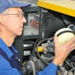 Unsere Fachkräfte bei der Installation eines Hochdruckanlage