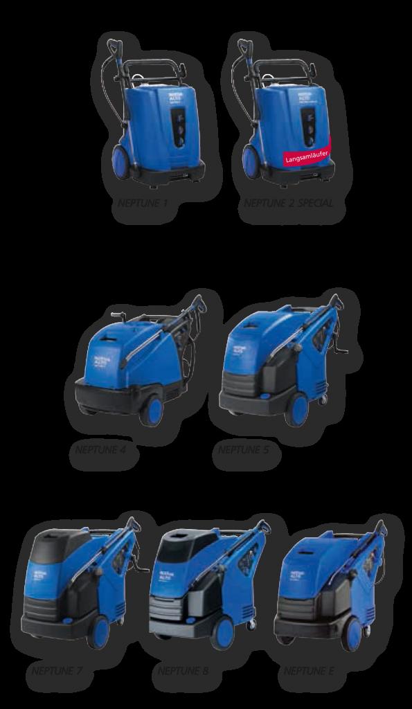 Hochdruckreiniger von Nilfisk-Alto - Poseidon2-Serie