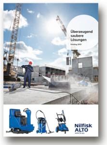 Produktkatalog Hochdruckreiniger von Nilfisk-Alto